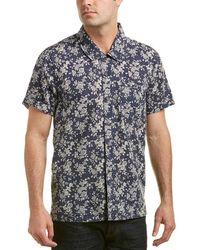 Blank NYC - Linen-blend Woven Shirt - Lyst