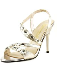 E! Live From The Red Carpet - Goldee Open-toe Synthetic Slingback Heel - Lyst