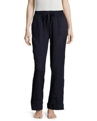 Skin Worldwide - Woven Clip Dt Pant - Lyst