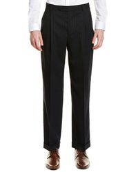 Brooks Brothers - Madison Fit Pleated Wool Blend Trouser - Lyst