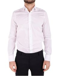Emanuel Ungaro - Men's White Cotton Shirt - Lyst