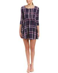 Peach Love CA - Plaid A-line Dress - Lyst
