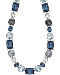 Swarovski - Crystal Divinity Plated Necklace - Lyst