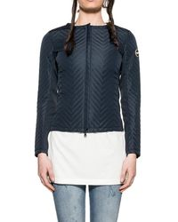 COLMAR ORIGINALS - Women's Blue Polyester Down Jacket - Lyst