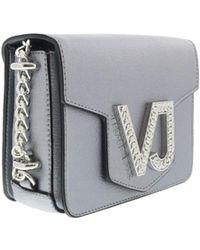Versace Jeans - Ee1vrbbc1 Silver Crossbody - Lyst