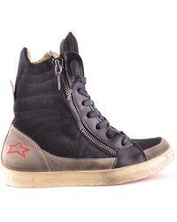 Ishikawa - Women's Black Leather Ankle Boots - Lyst