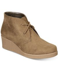 Style & Co. - . Womens Jerardyf Closed Toe Ankle Fashion Boots - Lyst
