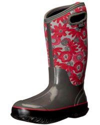 Bogs - Womens 525552 Fabric Closed Toe Knee High Rainboots - Lyst