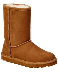 BEARPAW - Elle Short Cold Weather Boots, Hickory - Lyst