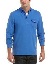 Michael Bastian - Gray Label Rugby Polo Sweatshirt - Lyst