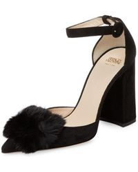 Frances Valentine - Womens Marybeth Pointed Toe Ankle Strap Classic Pumps - Lyst