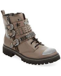 Ivy Kirzhner - Molotov Leather Boot - Lyst