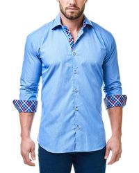 Maceoo - Woven Shirt - Lyst