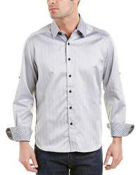 Robert Graham - Canton Classic Fit Woven Shirt - Lyst