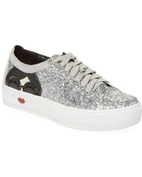 Alice + Olivia - Stace Taylor Glittered Sneaker - Lyst