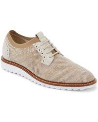G.H. Bass & Co. - . Mens Dirty Buck 2.0 Plain Toe Knit Oxford Shoe - Lyst
