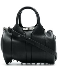 Alexander Wang - Women's Black Leather Handbag - Lyst