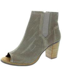 TOMS - Women's Majorca Peep Toe Casual Shoe - Lyst