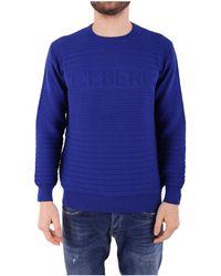 Iceberg - Men's Purple Cotton Sweatshirt - Lyst