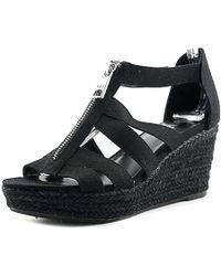 Ralph Lauren - Lauren By Womens Kelcie Fabric Open Toe Casual Espadrille Sandals - Lyst