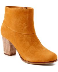 Cole Haan - Cassidy Nubuck Leather Bootie - Lyst