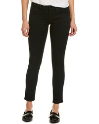 The Kooples - Leather Panel Pant - Lyst