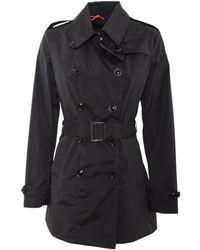 Rrd - Women's Black Polyamide Trench Coat - Lyst