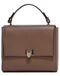 Philippe Model - Women's Brown Leather Handbag - Lyst