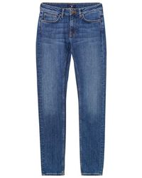 Womens Cord Slim Jeans GANT 5k0Ot