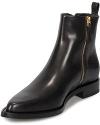 Alexander McQueen - Braided Chain Leather Chelsea Boots - Lyst