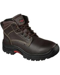 Skechers - Men's Work Relaxed Fit Burgin Congaree Boot - Lyst