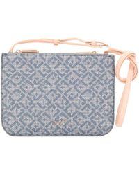 Liu Jo - Women's Blue Polyurethane Shoulder Bag - Lyst