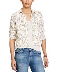 Denim & Supply Ralph Lauren - Floral Print Shirt - Lyst