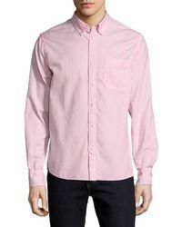 Save Khaki - Collar Oxford Sportshirt - Lyst