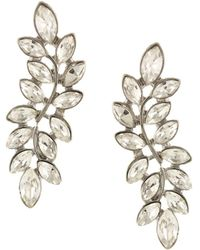 Sparkling Sage - Plated Resin Earrings - Lyst