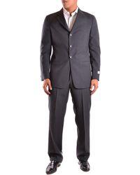 Armani - Men's Mcbi024032o Grey Wool Suit - Lyst