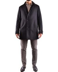 Allegri - Men's Black Wool Coat - Lyst