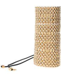 Viviane Guenoun - Impressive Chain Gold Plated Bracelet - Lyst