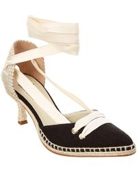 Manolo Blahnik - Castaer By By Day Canvas Pump - Lyst