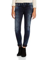 Tommy Hilfiger - Women's Dw0dw00770blue Blue Cotton Jeans - Lyst