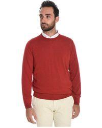 Brunello Cucinelli - Men's Red Wool Sweater - Lyst