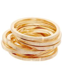 Kenneth Jay Lane - Plated Stretch Bracelet Set - Lyst
