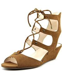 INC International Concepts - Womens Mandie Fabric Open Toe Casual Strappy Sandals - Lyst