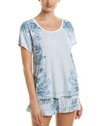 Kensie - Floral Sleepshirt - Lyst