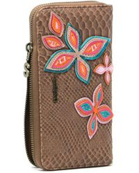 Desigual - Women's Brown Polyester Wallet - Lyst