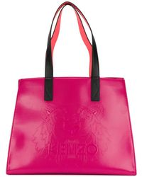 KENZO - Patent Shopping Bag - Lyst