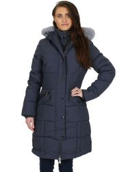 Pajar - Womens Annie Temperature Rated 4-layer Parka Coat Gray Xl - Lyst