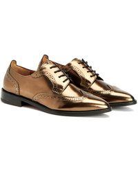Aquatalia - Gwen Waterproof Metallic Shoe - Lyst