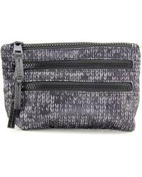 Shiraleah - Colorado Zip Women Nylon Grey Cosmetic Bag - Lyst