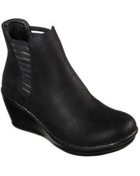 Skechers - Women's Rumblers Beam Me Up Ankle Boot - Lyst